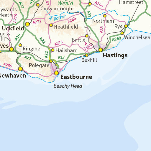 West Sussex County Council Interactive Map (iMap)