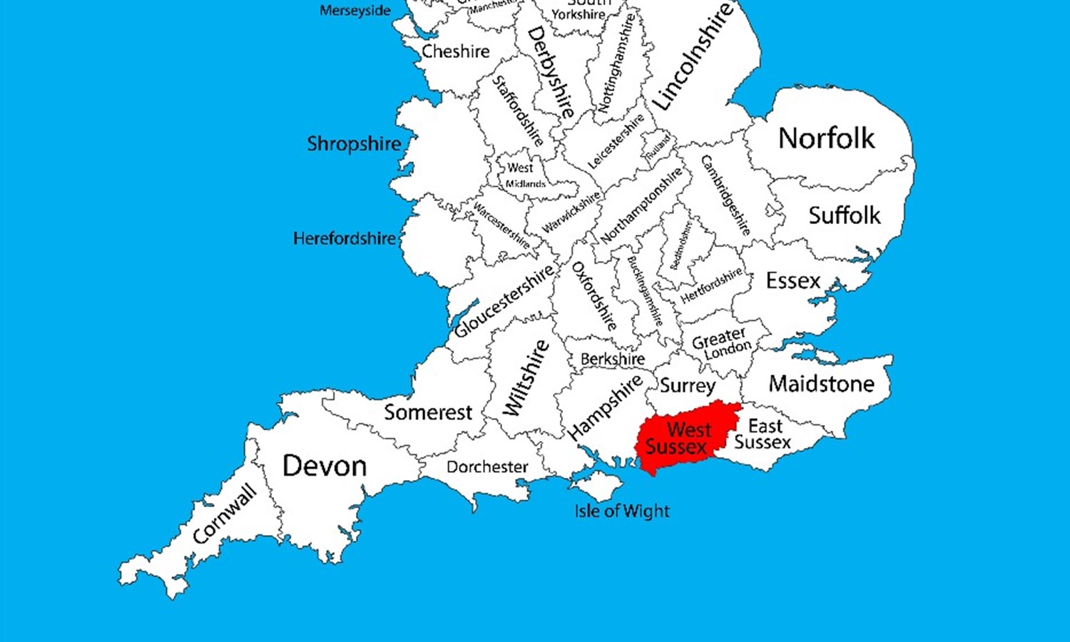 Map Of Uk 1500.Maps Of West Sussex West Sussex County Council