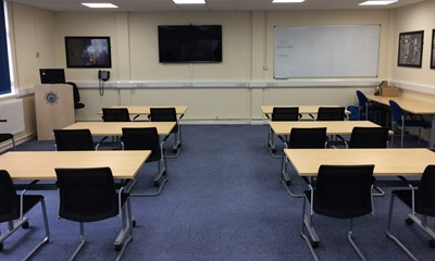 Horley Fire Station classroom meeting room