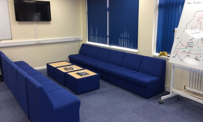 Horley Fire Station breakout area