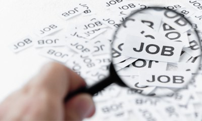 Spotlight on jobs with a magnifier