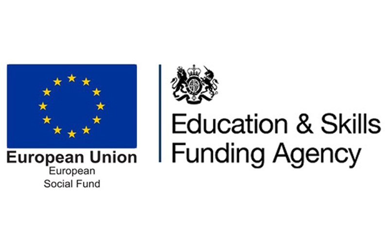 European Social Fund and Education & Skills Funding Agency logos