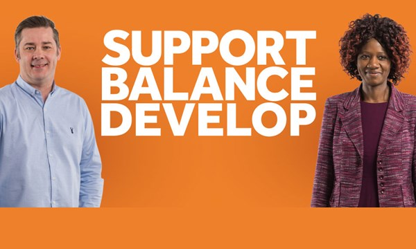 Support, Balance, Develop