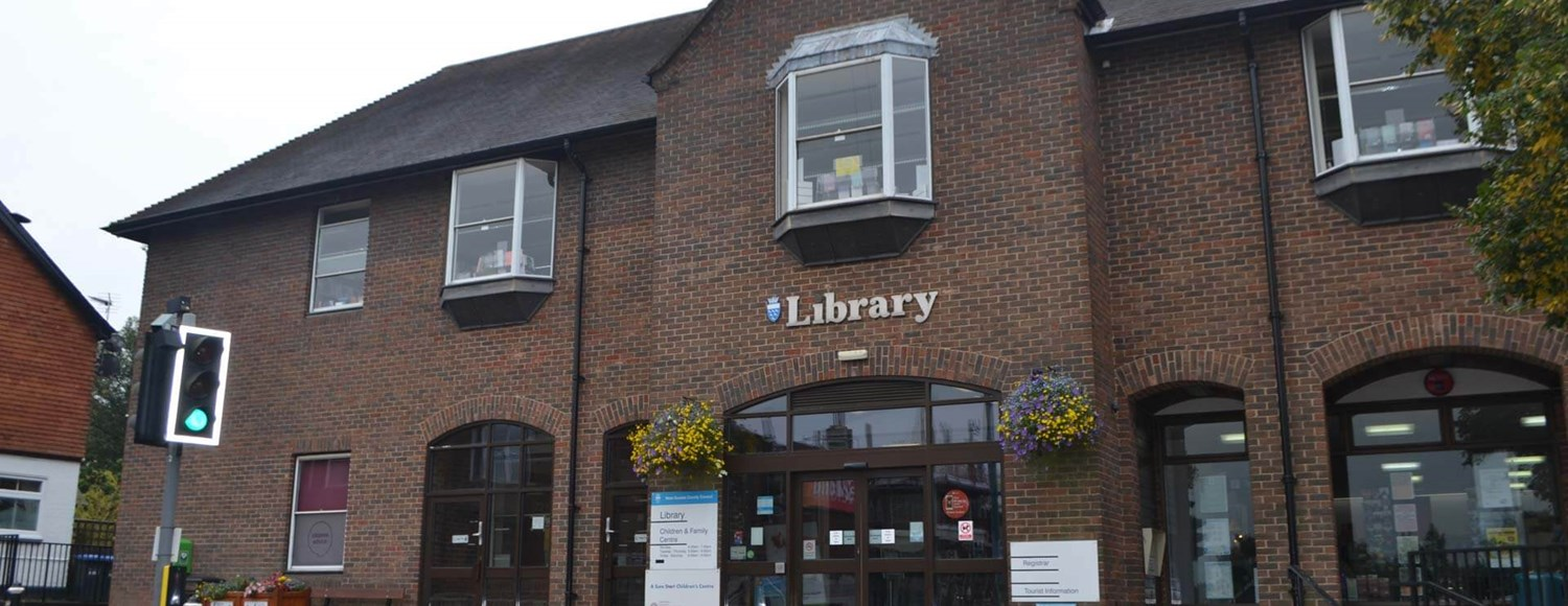 Exterior of East Grinstead Library Children and Family Centre