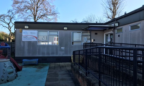 Exterior of Pound Hill Children and Family Centre