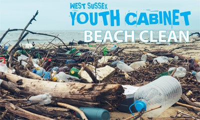 West Sussex Youth Cabinet beach clean