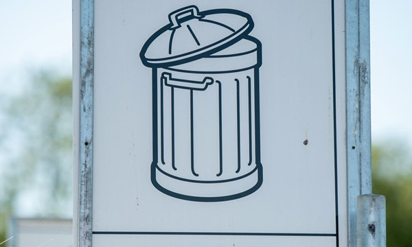 Poster of a bin