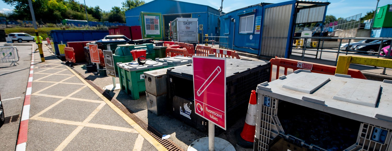 Photo of Burgess Hill household waste recycling site