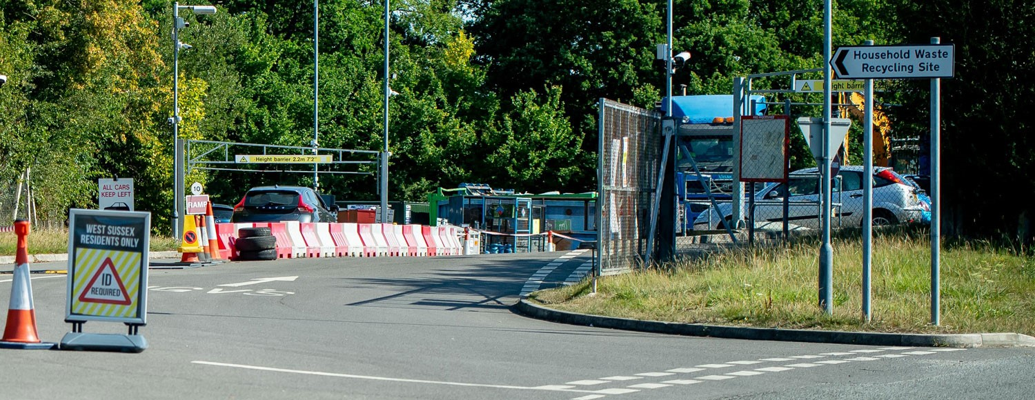 Photo of Billingshurst household waste recycling site