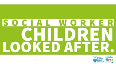 Social worker children looked after logo