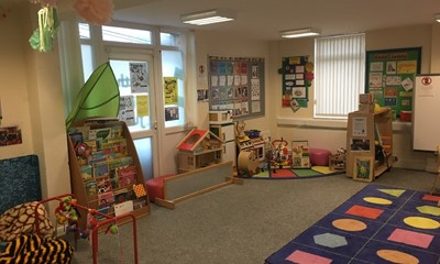 Playroom facilities at the centre