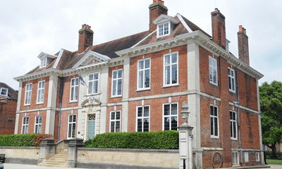 The front of Edes House