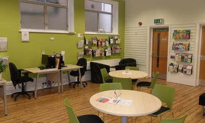 Worthing FindItOut centre activity room