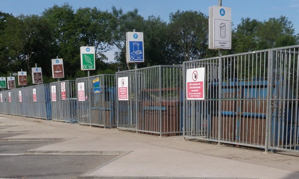 Changes at Household Waste Recycling Sites ...find out more