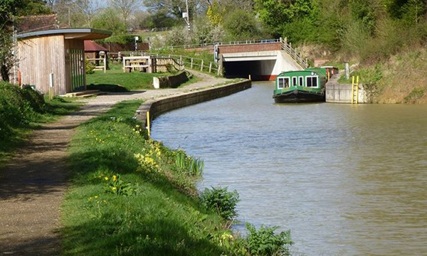 The Wey and Arun canal ...find out more